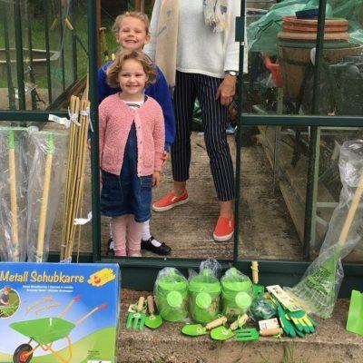 Landscape Associates Landscape Associates supports local schools gardening club